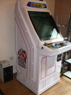 C-MACC'S arcade cabinet plays every game known to man