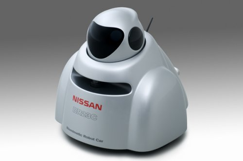 "Nissan's robot ""car"" that thinks it's a bumblebee"