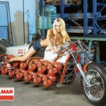 Dolmette motorcyle is powered by 24 Dolmar Chainsaw Engines