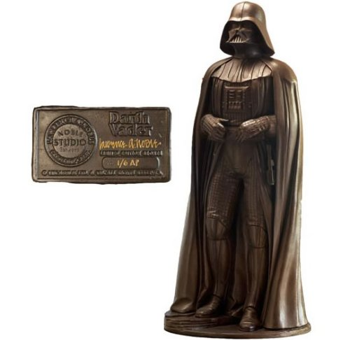 $18,000 Darth Vader bronze statue