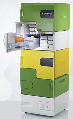 Electrolux Flatshare Fridge is awesomely modular