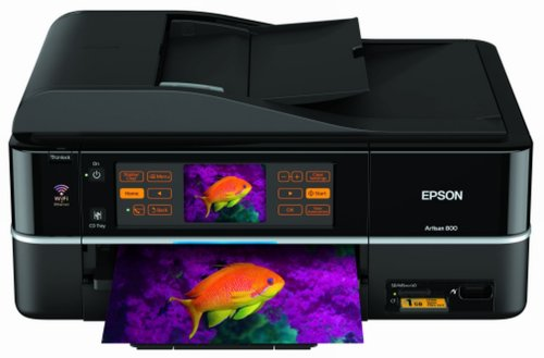 Hands on: Epson Artisan 800 All-in-One Printer