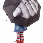 Send the rain a message with the F%$@ The Rain umbrella