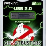 USB Flash Drive with Ghostbusters movie