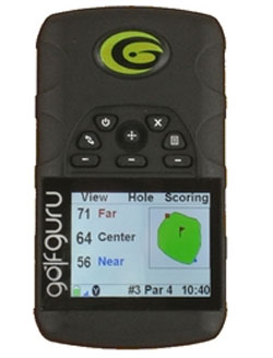 GPS GolfGuru Color