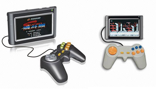 GPS navigation system &#038; game console