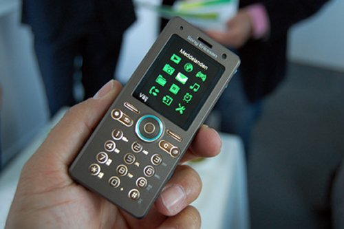 Sony Ericsson's eco-friendly mobile phone concept
