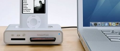 Griffin Simplifi iPod dock with USB and card readers