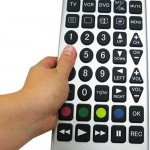Jumbo Universal Remote Control for fat fingers
