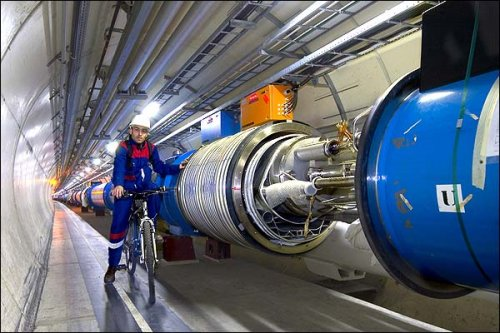 Large Hadron Collider operations held until April of next year.