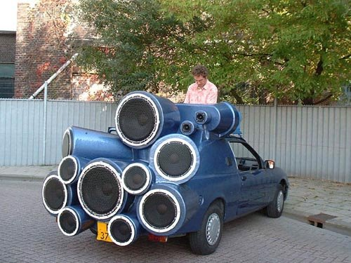 DJ Mobile could be the loudest car ever