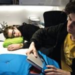 Napbook Laptop Case doubles as a pillow