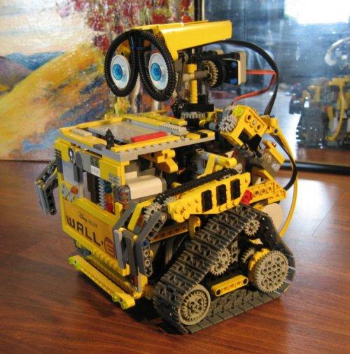 Lego NXT autonomous Wall-E robot