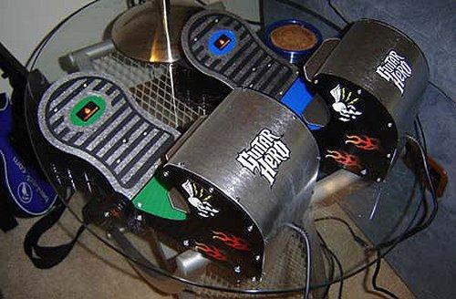Guitar Hero pedal controller