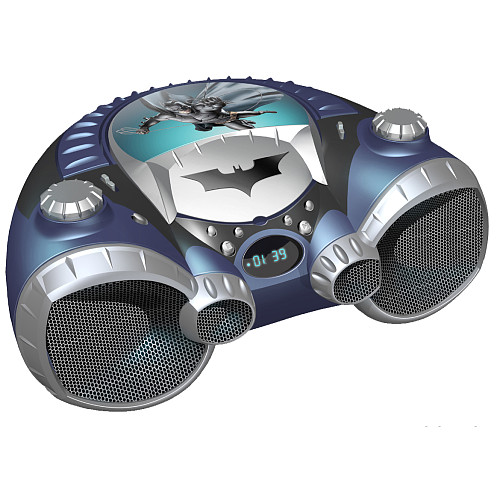 Rock the Bat Cave with the Batman Boombox