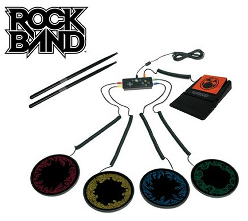 Mad Catz Rock Band portable drum kit for Xbox 360 now on sale