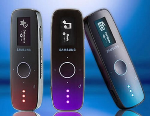 Samsung Litmus and Diamond MP3 players