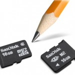SanDisk unveils 16GB microSD and M2 cards for mobiles