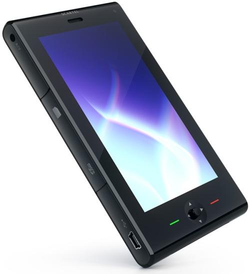 Art Lebedev's Scartel WiMax handset concept