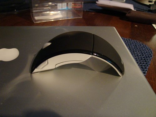 Microsoft's Arc laser mouse
