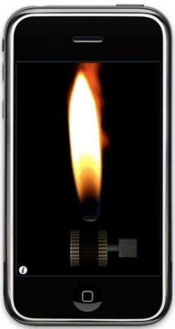 Sonic Lighter app for iPhone