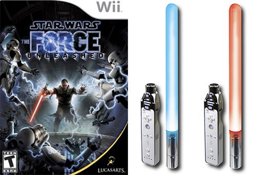 Hands on: The Force Unleashed + Dual Glow Sabers = Extreme Geekery