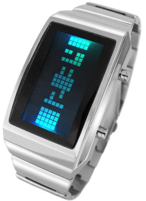 Tokyoflash's negative watch accentuates the positive