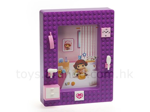 The Brick photo frame is like Lego for girls