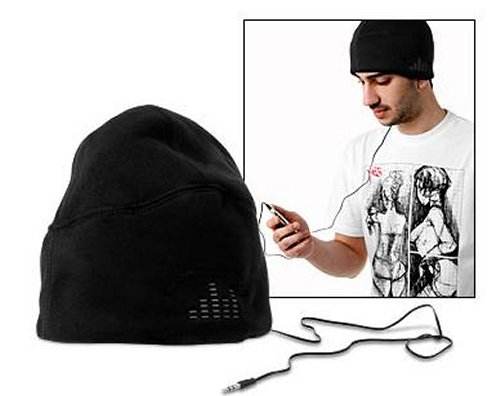 iLogic Sound Hat with headphones built-in