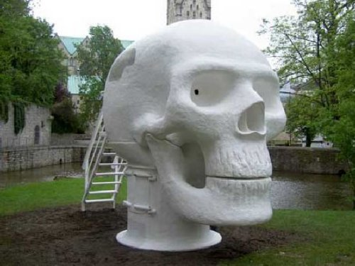 Wellness Skull is a morbid sauna