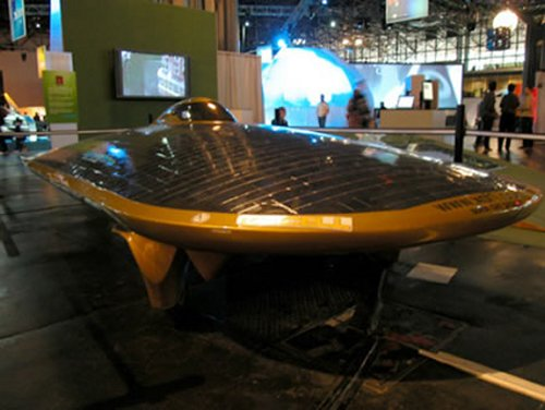 Solar powered UFO caught by police