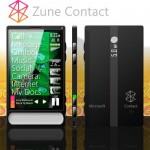 Zune Contact concept