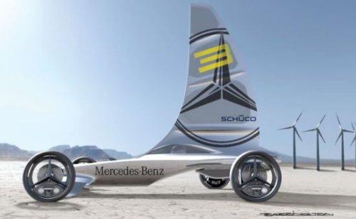 Mercedes-Benz Formula Zero luxury racer