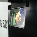 "Samsung shows off transparent .05mm ""flapping"" OLED panels"