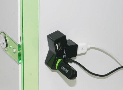 Magnetic USB hub is useful