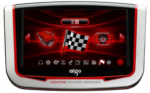 Aigo Vodafone McLaren Mercedes MP5 player