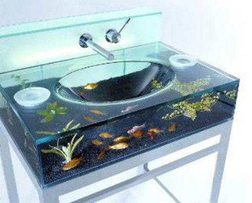 Moody Aquarium Sink makes for moody fish