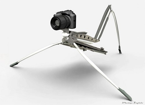 Biopod Automated Tripod: Robo-Paparazzi for short people