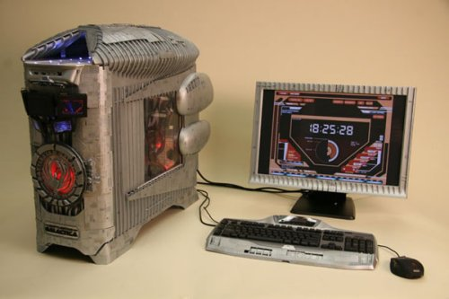 Battlestar Galactica case mod is awesome, So say we all!