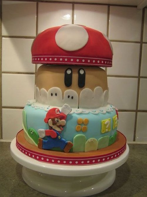 Mario Cakes are a 1up for your tastebuds.