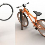 City Rack: A bike rack with built-in lock