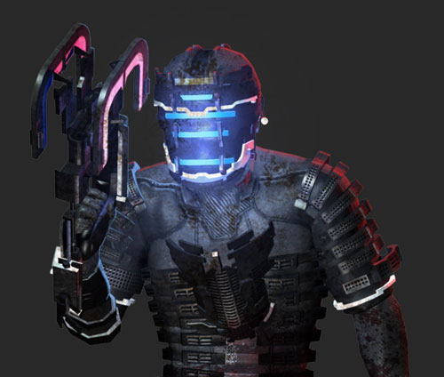 Dead Space PS3 Obsidian Suit