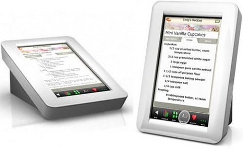 Demy Digital Recipe Reader for the kitchen