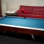 The disappearing Pool Table