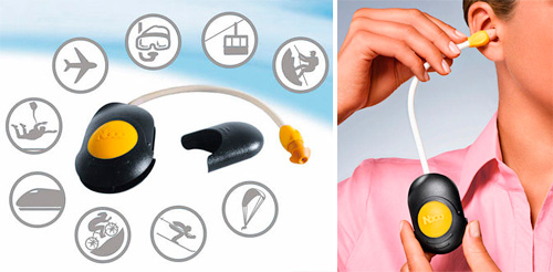 Ear Pressure Equalizer for instant relief