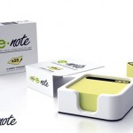 E-note concept saves paper