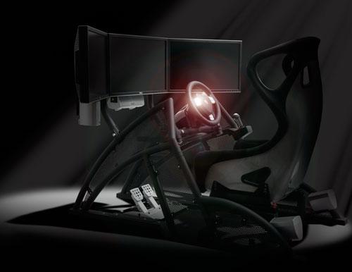 Fanatec Renn Sport cockpit