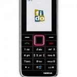 Fido unveils pink Nokia 3500