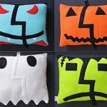 Scary OS X Mac-o-Lantern pillows