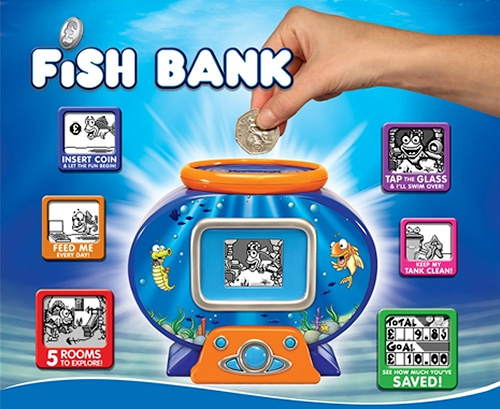 Save some clams with an interactive fish